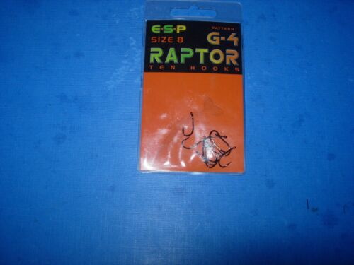 ESP SIZE 8 G--4 RAPTOR BARGAIN PRICE END OF STOCK LAST ONE/'S