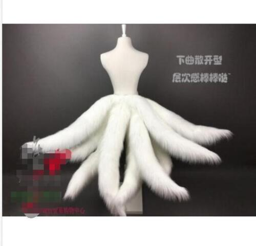 Legends LOL Ahri Nine-Tailed Cosplay fox Tails prop Halloween dress up Hot R470