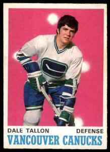 1970-71-O-PEE-CHEE-HOCKEY-225-DALE-TALLON-RC-VGEX-CANUCKS-HC-EXCHANGE-1