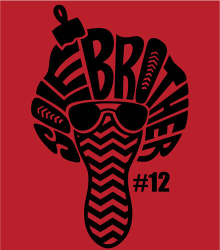 """/""""SOLE BROTHER #12/"""" T-shirt to Match Retro 12 /""""FLU GAME/"""""""