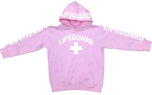 NW KID/'S YOUTH LIFEGUARD BEACH SAFETY STUFF FLEECE PULLOVER SWEAT HOODIE SHIRTS