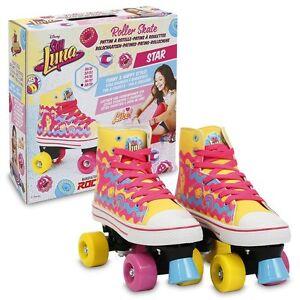 Disney-Soy-Luna-Roller-Skates-Star-Original-TV-Size-32-33-2017-Giochi-Preziosi