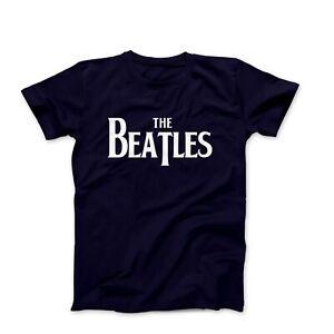 The-Beatles-Logo-Men-039-s-Fashion-T-Shirt