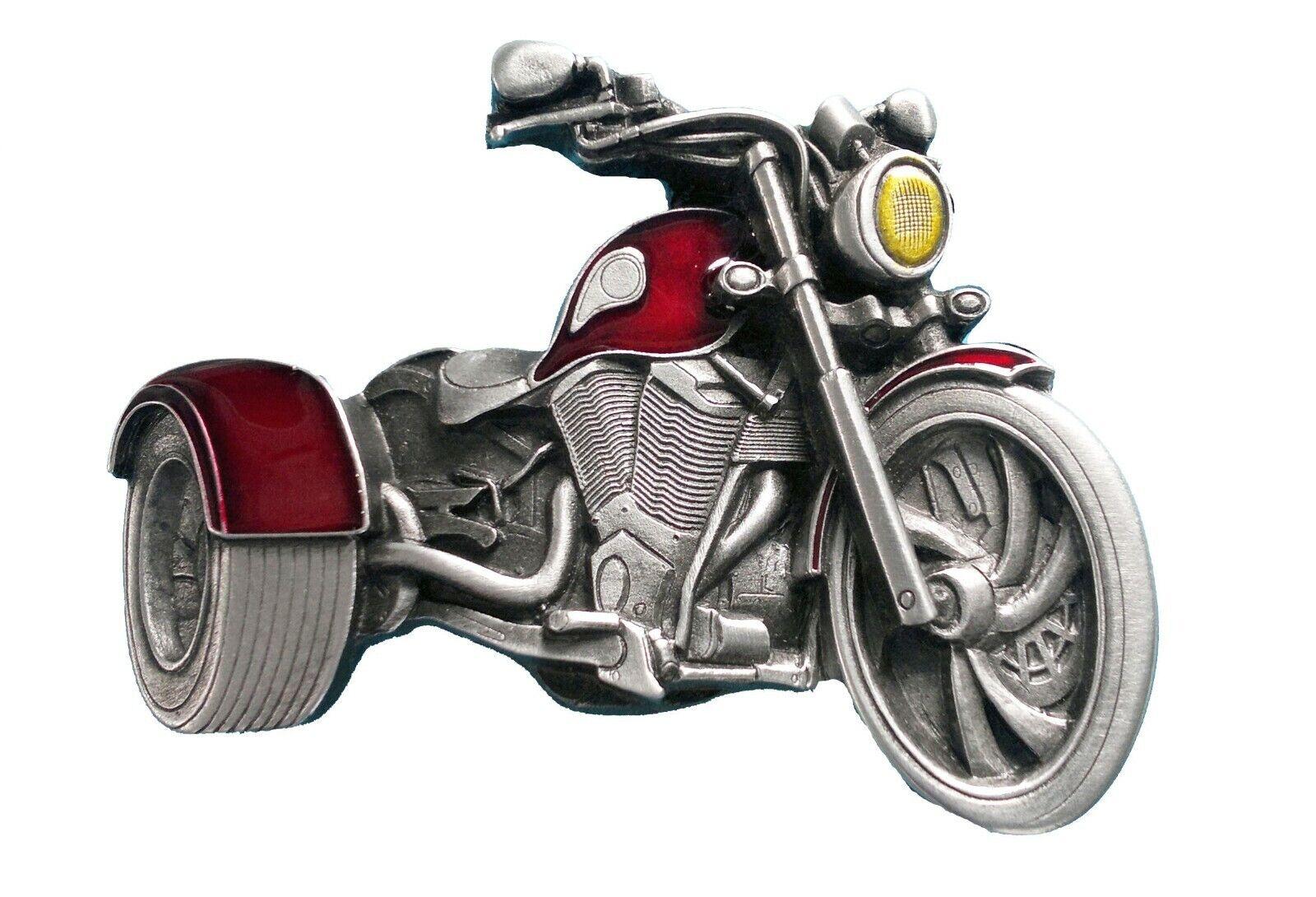 Trike Motorcycle Belt Buckle with Presentation Box