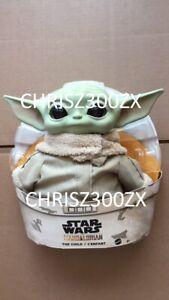 Star-Wars-The-Mandalorian-The-Child-11-034-Plush-Vinyl-Figure-Baby-Yoda-Mattel-2020