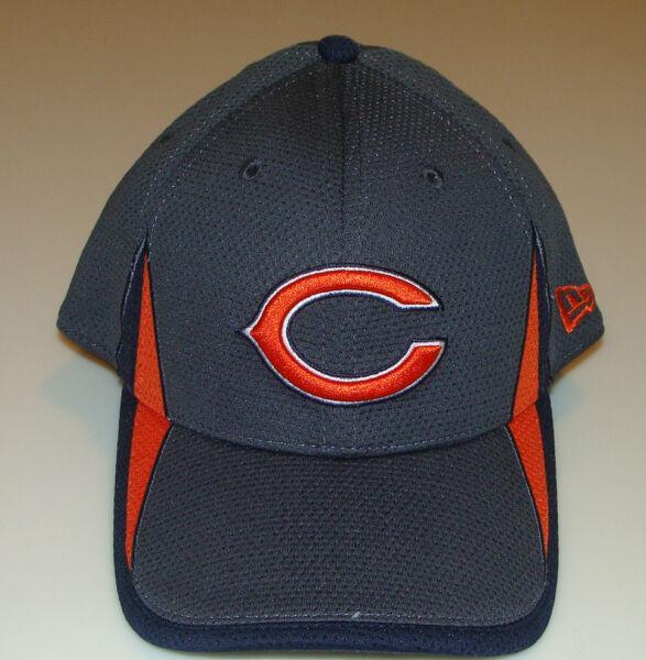 New Era Hat Cap Football Chicago Bears M L 39thirty 2013 Training Graphite  NFL 244d0dc34