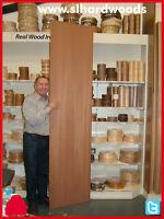 Wood Premium Veneered Mdf 2440x600x19mm Ideal Wardrobe Kitchen Panels Cut 2 Size