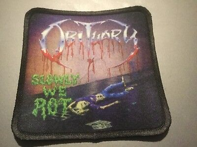"""Exodus Bonded by Blood Sublimated Patch 3""""x3"""" Album Cover Rock Metal Music"""