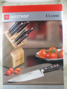 Image Is Loading WUSTHOF Classic 12 Piece Knife Block Set 7412