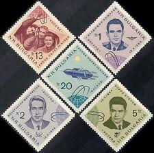 "Bulgaria 1964 Space Flight/Astronauts/""Voskhod 1""/Cosmonauts 5v set (n44216)"