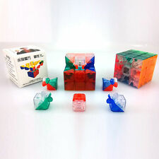 MoYu 3x3 1 X 3x3x3 YJ Yulong Stickerless Cube Puzzle, Transparent, Kid Gift