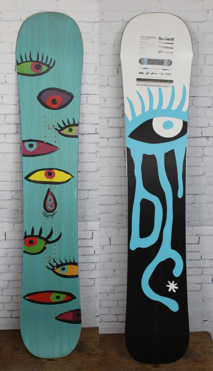New 2015 DC Telegraph Womens Snowboard 148 cm