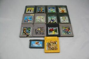 Gameboy-Gameboy-Color-and-Gameboy-Advance-14-Game-Lot-Paperboy-Donkey-Kong