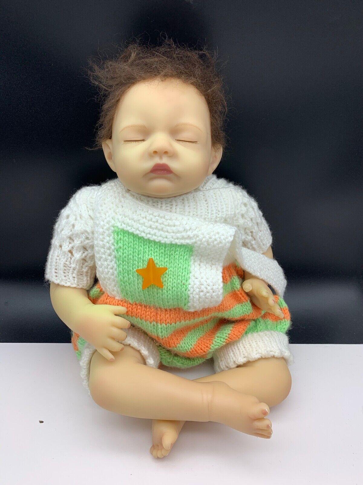 Bonnie Chyle Bambola D'Autore Plastica Bambola 46 Cm. Ottime Condizioni