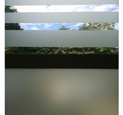 Frosted Window Tint Etch Privacy Film Frost Self Adhesive Sticky Back Plastic
