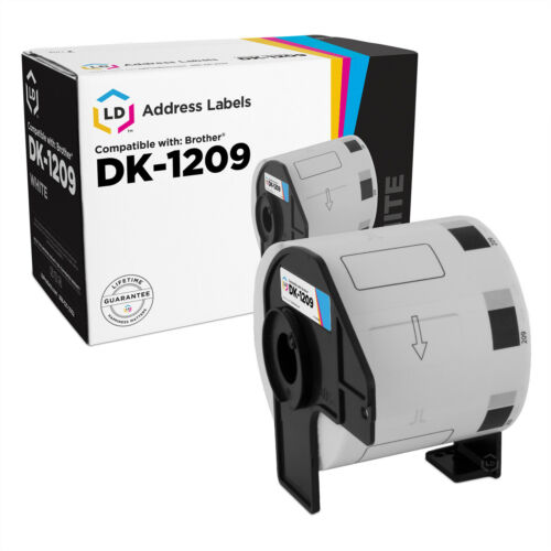 LD Compatible Brother DK-1209 2 Rolls of Address Labels 1.1 in x 2.4 in