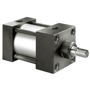 "Speedaire 6X391 2-1/2"" Bore Double Acting Air Cylinder 6"" Stroke"