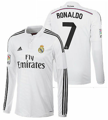 low priced 9948d 02e29 norway kit cristiano ronaldo 7 1415 real madrid long sleeve ...