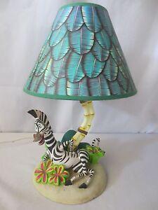 WALT DISNEY LAMP HAMPTON BAY MADAGASCAR MOVIE MARTY THE ZEBRA