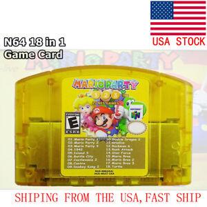 N64-18-in-1-Nintendo-64-Games-Mario-Party-1-2-3-Aggregation-15-NES-Edition-US