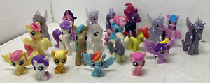 """My Little Pony Lot of 20 Blind Bag Mini Figures  MLP Ponies Small Figures 1-2"""""""