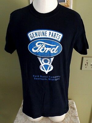 Ford Genuine Parts V8 Graphic Cotton T Shirt Short /& Long Sleeve
