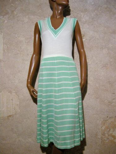 60er 38 Vintage Stripe Abito 1960 Vestito Chic 60s Retro Righe A Kleid OO1HxP