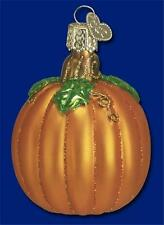 Old World Christmas Pumpkin Glass Fall Thanksgiving Ornament 28046