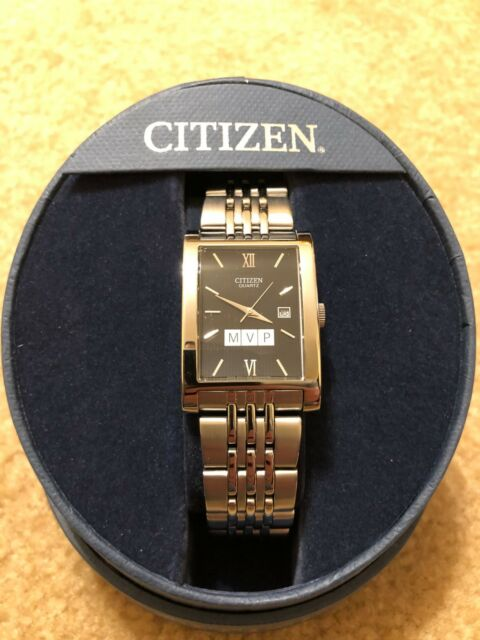 61d69c48993 Citizen Men s Black Dial Gold Tone Stainless Steel Watch BH167350E ...