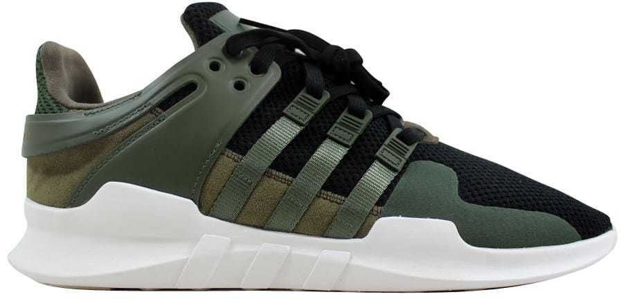 Adidas Equipment Support ADV Dark Green Black AC7146 Men's SZ 7