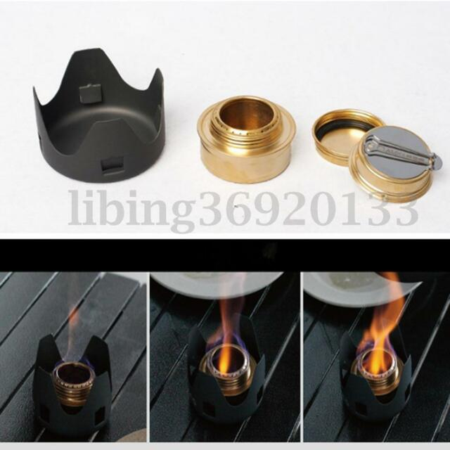 Portable Alcohol Stove Furnace Spirit Burner Outdoor Hiking Camping Cookware BBQ