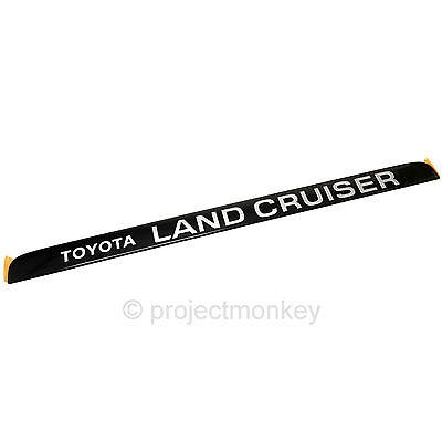 Genuine TOYOTA LandCruiser 80 Series HZJ80 FZJ80 Grill Badge Emblem Plate Gold