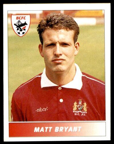 Panini liga de fútbol 95-Matt Bryant Bristol City Nº 36