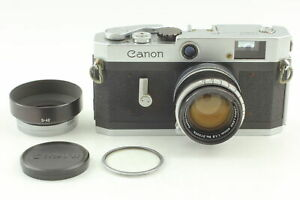 exc-5-mit-Kapuze-Canon-P-Rangefinder-Film-Camera-50mm-f1-8-Lens-aus-Japan