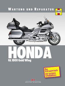HONDA-GL-1800-GOLD-WING-Reparaturanleitung-Reparaturbuch-Reparatur-Handbuch-NEU