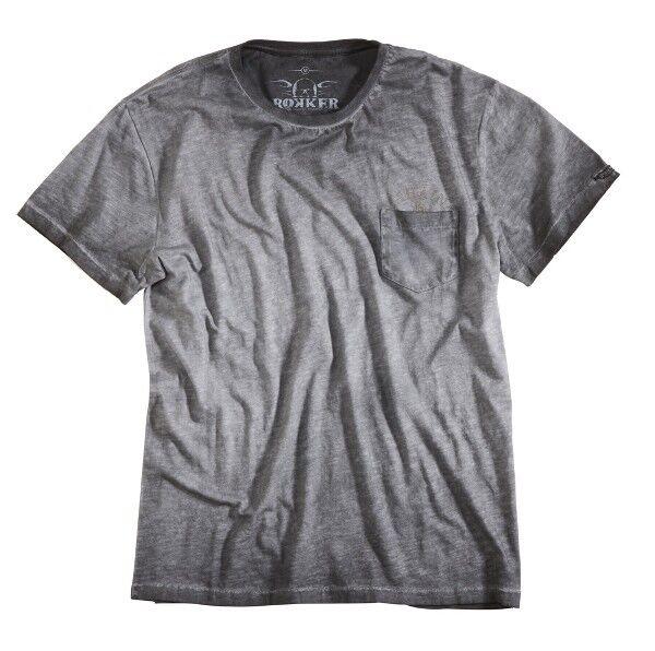 T-Shirt ROKKER Lahaina Dark Grey Farbe  grey Gr  XL