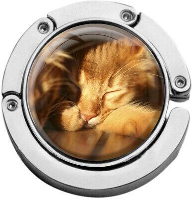 """Metalum Tasche Laccio In Forma Circolare """"gatto""""-er In Runder Form """"katze"""" It-it Mostra Il Titolo Originale Per Vincere Una Grande Ammirazione"""