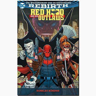Red Hood und die Outlaws MEGABAND 1 DC Rebirth Geheimnis Batman Antiheld PANINI