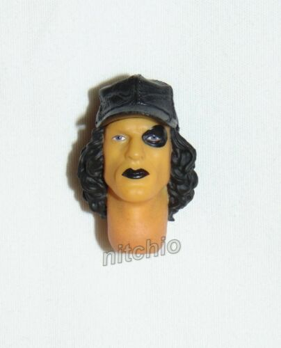 HEAD SCULPT WITH CLOSED MOUTH Mezco One:12 WARRIORS BASEBALL FURY LEADER