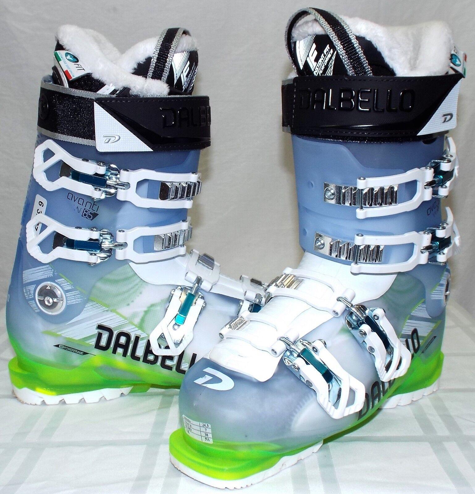 Dalbello Avanti 85 Used Women's Ski Boots Size 24.5