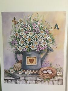Image Is Loading Standard Country Daisy Kitchen  Decorative Fridge Magnet Pitcher