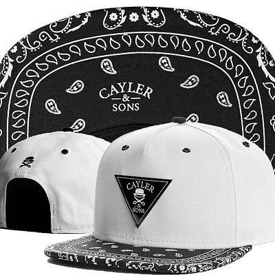 Hot Fashion Men's Fashion bboy brim adjustable baseball Cap snapback hip-hop Hat