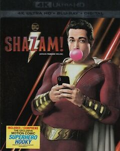 SHAZAM-4K-ULTRA-HD-BLURAY-2-DISC-SET-USED