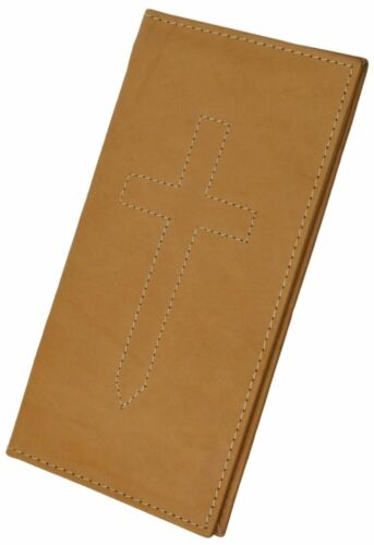 Marshal New Hand Crafted Genuine Soft Leather Checkbook Cover with Duplicate