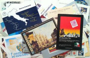 Lotto-40-cartoline-a-tema-filatelico-e-3-biglietti-postali