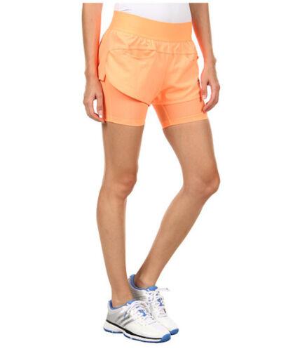 NWT Women/'s ADIDAS by STELLA MCCARTNEY Barricade TENNIS Fitness RUNNING SHORTS