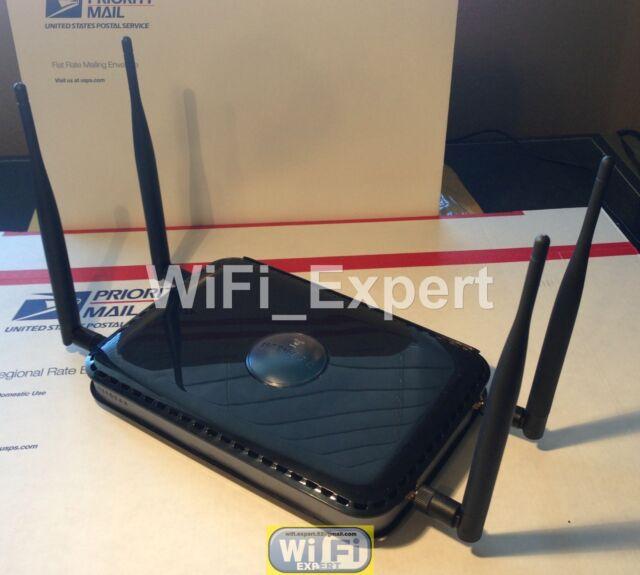 4 x 2dBi Antenna Wifi Dual Band Mod Kit For Netgear N600 WNDR3400 Dual Gigabit