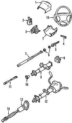 GM OEM Steering Column-Intermediate Shaft 19153614