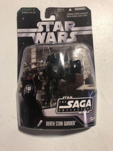 STAR WARS THE SAGA COLLECTION DEATH STAR GUNNER W// HOLOGRAM FIGURE NEW MOC