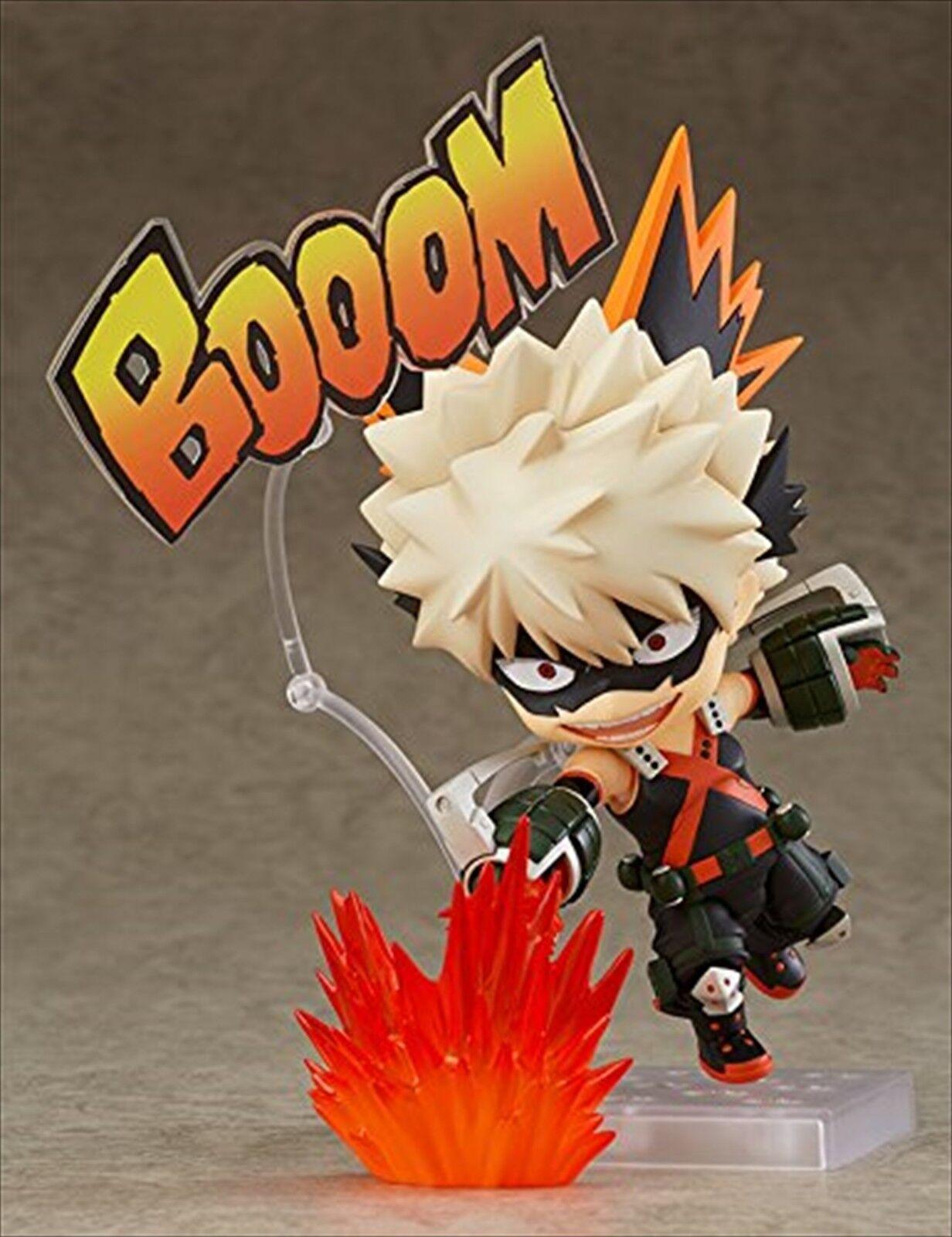Nendoroid 705 Anime PVC Action Figure My Hero Academia Bakugou Katsuki Toy New